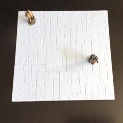 1mm White Stone Floor Sheet