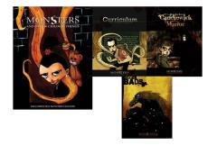 Monsters and Other Childish Things Starter Collection - 4 Books!