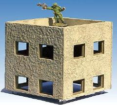 4'' x 4'' Upper Story Building
