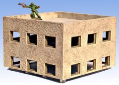 6'' x 6'' Upper Story Building