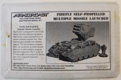 Firefly Self-Propelled Multiple Missile Launcher