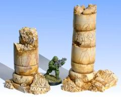 Ruined Egyptian Columns