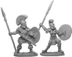 Greek Hoplite Warriors