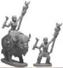 Barbarian Bison Warrioress