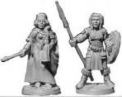 Celtic Princess & Spearwoman