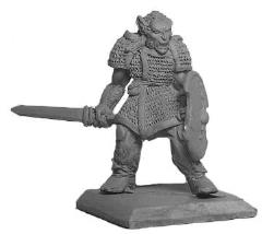 Half-Orc Fighter - Male