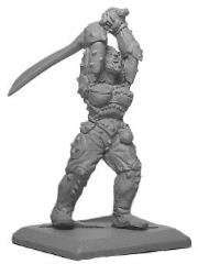 Half-Orc Fighter - Female