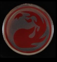 Pin - MtG Red Mana