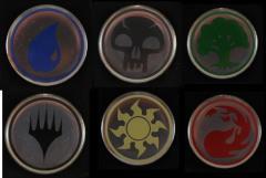 Pins - MtG Mana Set (6)