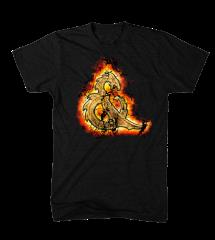 Fire Ampersand T-Shirt (XX-Large)