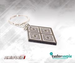 Aristeia! Keyring Etched (Miyamoto)