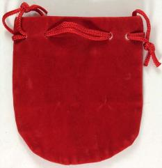 Small Felt Pouch (red)
