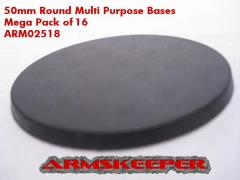 50mm Round Multi-Purpose Bases