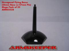 Hexagonal Flying Bases - Black