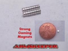 "1/16"" x 1/32"" Strong Gaming Magnets - Small (16)"
