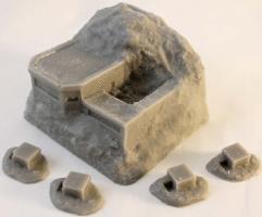 Pill Boxes & Gun Emplacement