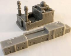 Row Houses & Mosque