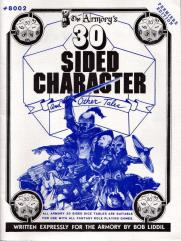 30 Sided Character and Other Tales