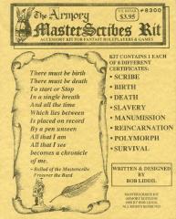 Master Scribes Kit