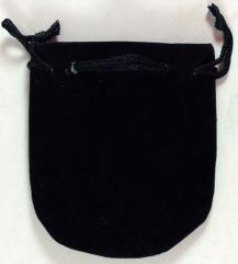 Small Felt Pouch (black)