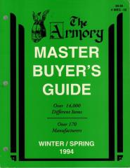 Master Buyer's Guide - Winter/Spring 1994