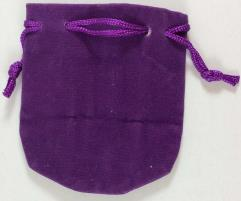 Small Felt Pouch (purple)