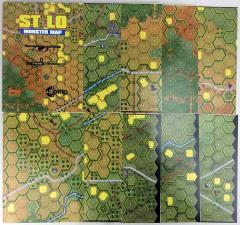 St Lo Hill 192 Monster Map