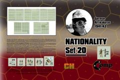 Nationality Set #20 - German North Africa 1941-43