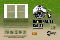 Nationality Set #31 - U.S. Arborne