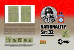 Nationality Set #32 - U.S. Airborn