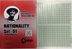 Nationality Set #51 - Polish Carpathian Rifles 1941-42
