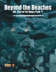 ASL Starter Kit #1 - Bonus Pack #1 - Beyond the Beaches (1st Printing)