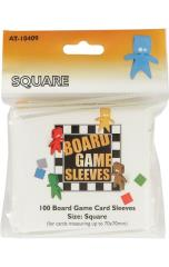 Board Game Sleeves - Square (10 Packs of 100)