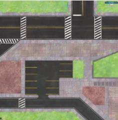 3' x 3' Game Mat - Midtown Mayhem