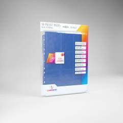 18-Pocket Side Loading Pages - Blue (10)