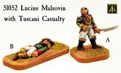 Lucius Malsovin w/Tuscani Casualty