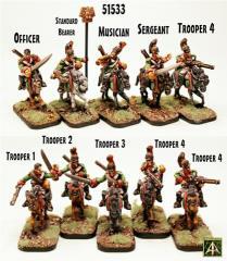 Elf Line Dragoons Unit