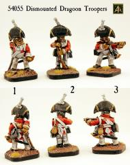 Dismounted Dragoon Troopers