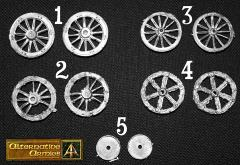 Battlefield Bits - Wheels