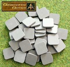 20mm Square Cartouche Bases