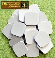 30mm Square Cartouche Bases