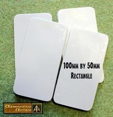 100mm Rectangle Bases