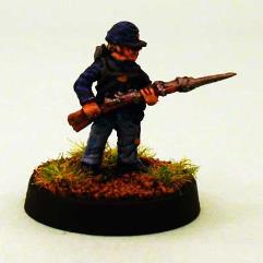 Union Infantry - Advancing