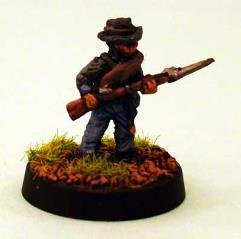 Confederate Infantry - Advancing