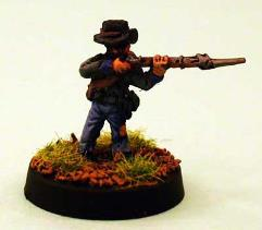 Confederate Infantry - Firing
