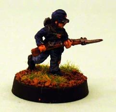 Union Infantry - Charging