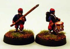 Zouave in Kepi Command