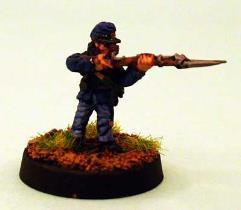 Union Infantry - Firing