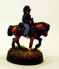 Limber Horse w/Rider