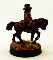 Civilian Irregular on Horse